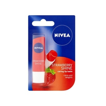 Son dưỡng môi NIVEA Fruity Shine Strawberry Lip Balm 4.8g