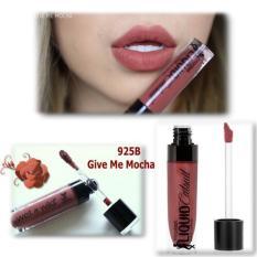 Son Kem Lì Wet n Wild MegaLast Liquid Catsuit Matte Lipstick 7ml # 925B Give Me Mocha - màu nâu đỏ trầm điểm chút cam tốt nhất