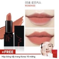 Son lì lâu trôi MuseColor RedLabel Mini Lipstick 05 - RoseKiss tốt nhất