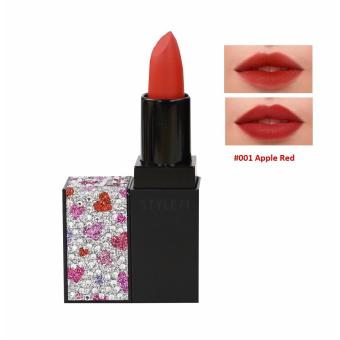 Son lì Style 71 Jewelry Velvet Lipstick 3.5g #001 Apple Red