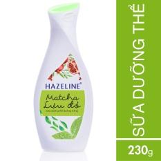 Đánh Giá Sữa dưỡng thể HAZELINE matcha & lựu đỏ 230ml