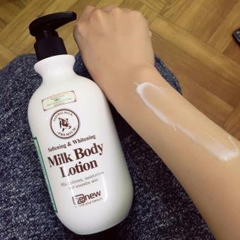 Sữa dưỡng thể làm trắng da Whitening Body Lotion Hàn Quốc 450ml - Hàng chính hãng
