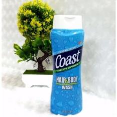 Sữa tắm gội 2in1 cho nam COAST Classic Scent Hair & Body 532ml