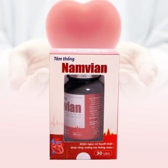 Tâm thống Namvian Học viện quân y giúp ổn định nhịp tim