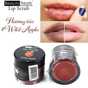 Tẩy tế bào chết môi hương táo Beauty Treats Lip Scrub 10.5g