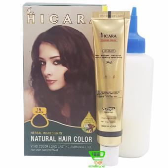 Thuốc nhuộm tóc phủ bạc dạng kem HICARA 1N 40g (Đen) - 8182147 , HI860HBAA13GM0VNAMZ-1578396 , 224_HI860HBAA13GM0VNAMZ-1578396 , 190000 , Thuoc-nhuom-toc-phu-bac-dang-kem-HICARA-1N-40g-Den-224_HI860HBAA13GM0VNAMZ-1578396 , lazada.vn , Thuốc nhuộm tóc phủ bạc dạng kem HICARA 1N 40g (Đen)