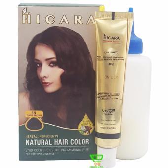 Thuốc nhuộm tóc phủ bạc dạng kem HICARA 3N 40g (Nâu Đen) - 8182146 , HI860HBAA13GLZVNAMZ-1578395 , 224_HI860HBAA13GLZVNAMZ-1578395 , 190000 , Thuoc-nhuom-toc-phu-bac-dang-kem-HICARA-3N-40g-Nau-Den-224_HI860HBAA13GLZVNAMZ-1578395 , lazada.vn , Thuốc nhuộm tóc phủ bạc dạng kem HICARA 3N 40g (Nâu Đen)