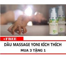 Bảng Báo Giá Tinh dầu Massage Yoni Kích Thích OLEO 100ml Mua 3 Tặng 1