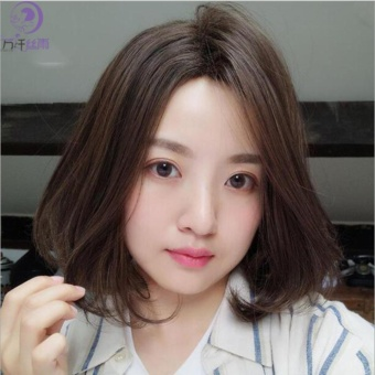 Tóc giả nữ Hàn Quốc cao cấp TG563 ( NÂU HẠT DẺ )