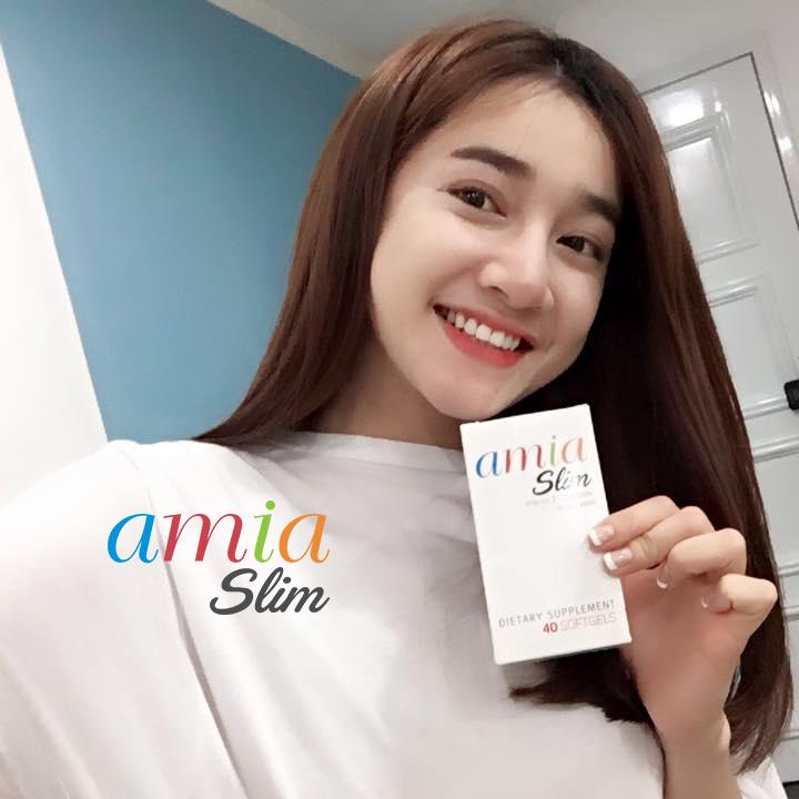 Viên uống hỗ trợ giảm cân AMIA SLIM