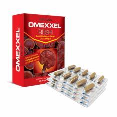 Cập Nhật Giá Viên uống Nấm linh chi bồi bổ sức khỏe Omexxel Reishi- Hộp 30 viên- Chính hãng Hoa Kỳ
