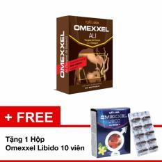 Báo Giá Viên Uống Tăng Cường Sinh Lý Nam Omexxel Ali Hộp 30 Viên Tặng 1 Hộp Omexxel 10 Viên