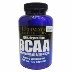 Viên Uống Tăng Sức Mạnh và Sức Bền 100% Crystalline BCAA – 120 viên