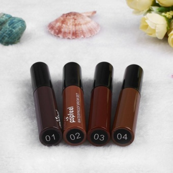 Waterproof Natural Long Lasting Eye Brow Dye Tattoo Tint Brown GelMascara