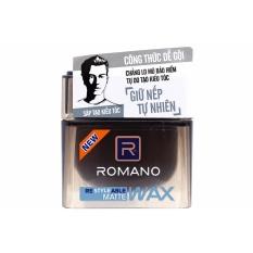 Wax vuốt tóc Romano Giữ nếp tự nhiên 68g (đen)