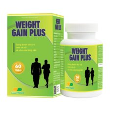 Báo Giá Weight Gain Plus – Nutrivita 60 viên