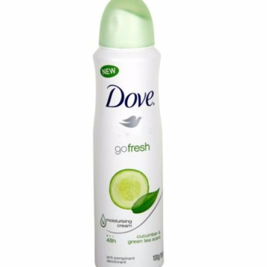 Hình ảnh Xịt khử mùi Dove Go Fresh 150ml Hương Dưa Leo