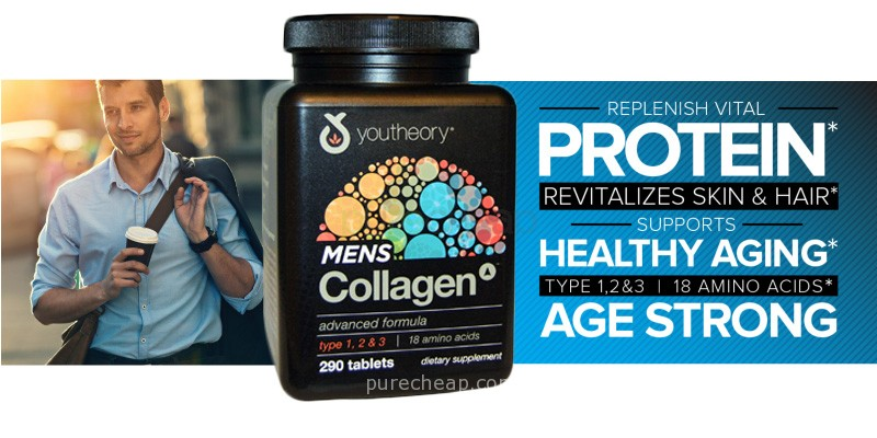 Collagen men dành cho nam - Collagen Men Youtheory Advanced ...