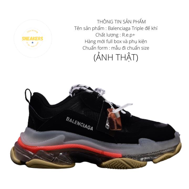 Giày nam nữ sneaker thể thao Ba.Len.cia.ga đế khí đế tách phân tầng chuẩn chữ 1