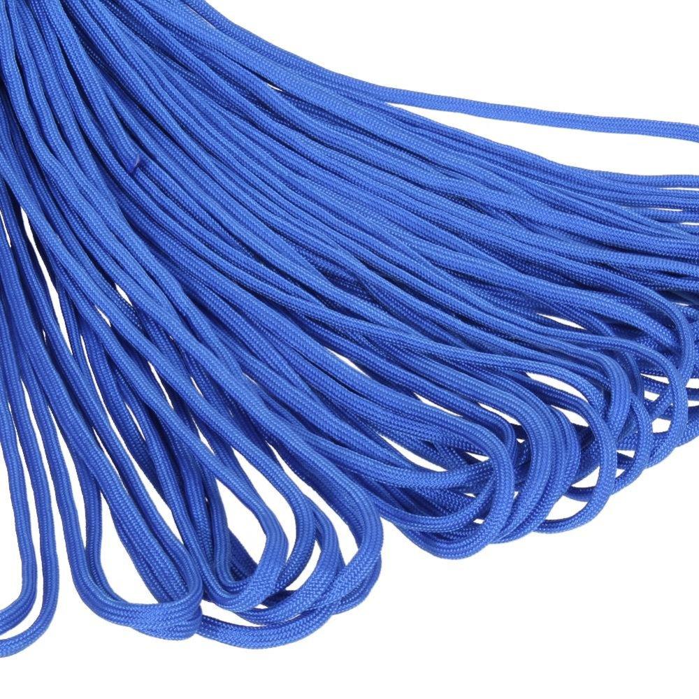 ... 100FT Parachute Cord Lanyard Rope(Blue) - intl ...