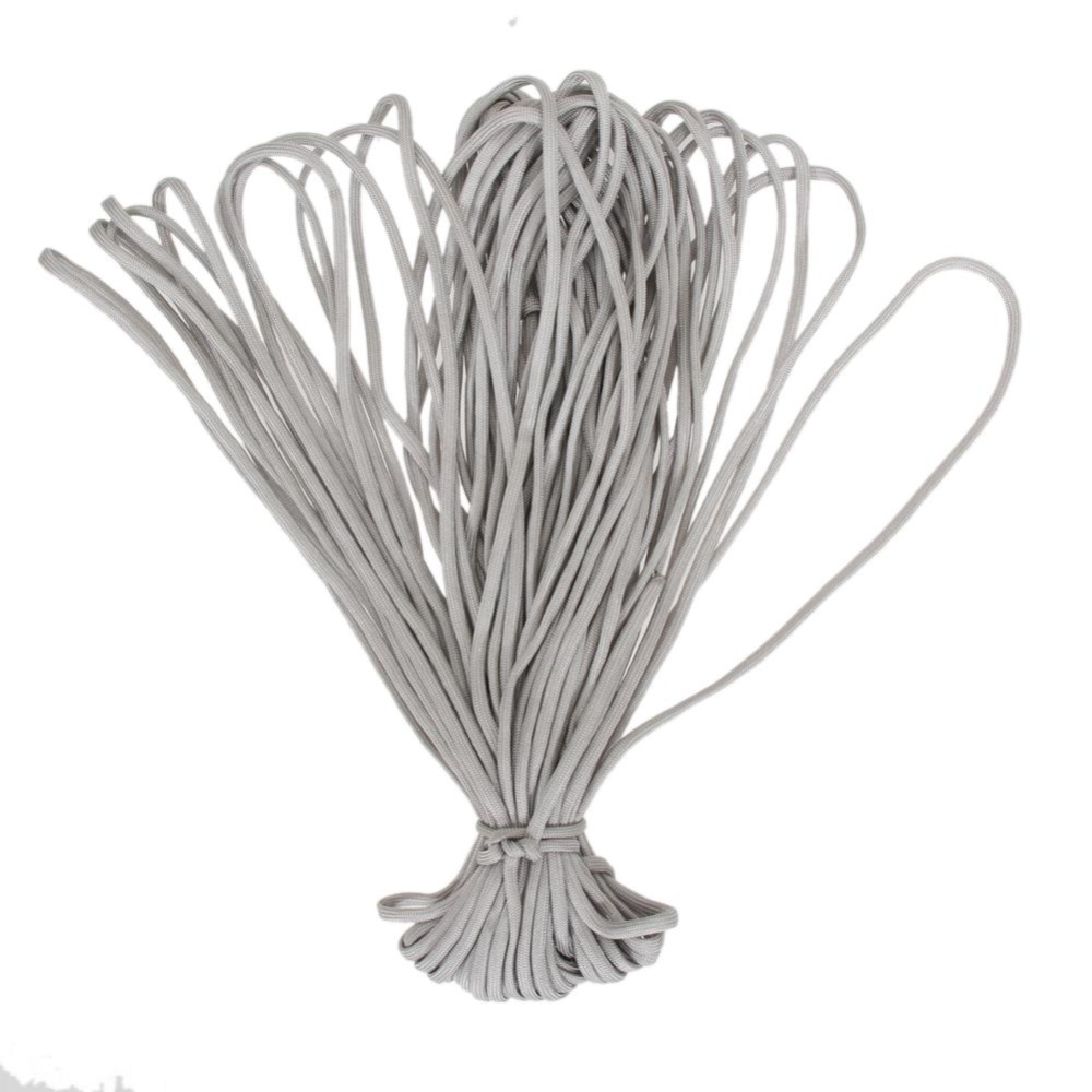 ... 100FT Parachute Cord Lanyard Rope(Grey) - intl ...