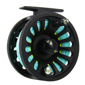 1+1B Bearing Fly Fishing Reel Fishing Line + Extension Line+Taper Leader+Tippet Set - intl