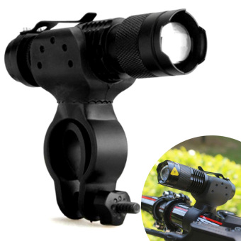 1200lm Cree Q5 Cycling Bike Bicycle Head Front Flashlight + 360 Mount