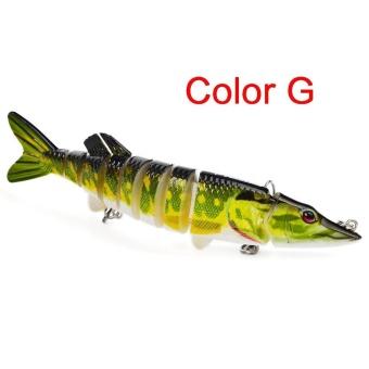 12cm 20g Multi-Jointed Fishing Lure bait plastic bionic bait (G) - intl