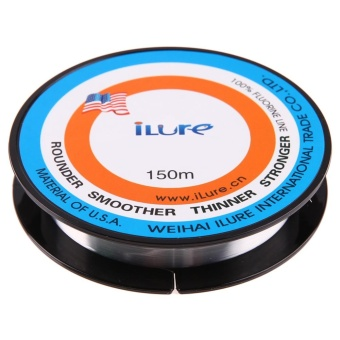 150 Meters Durable Nylon Flourocarbon Fishing Line 1#(Clear) - intl