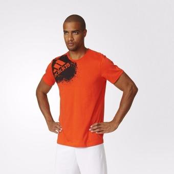 Tiết kiệm mua Áo thun bóng đá nam Adidas X TEE GRA T-SHIRT AX7191 (Cam)