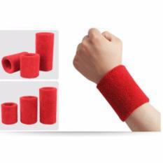 Bảng Báo Giá Băng bảo vệ cổ tay co dãn khi thể dục (15 cm) màu đỏ