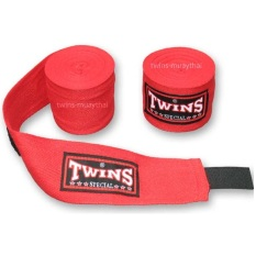 Địa Chỉ Bán Băng đa quấn tay Twins Kick Boxing Muay MMA (Đỏ).