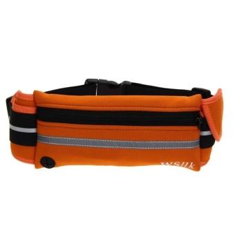 Bang Outdoor Sports Running Pack Portable Waist (Bag Orange) - intl