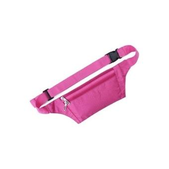 Bang Practical Waterproof Multi-Functional Outdoor Sport Waist Bag(Pink) - intl