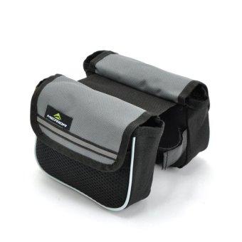 Bang Professional Cycling Bag Sports Outdoors Equipment Bag Alib8104gray - intl