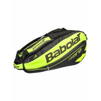 Bao vơt Tennis Babolat Racket Holder X6 (2 ngăn) Pure Aero BlackYellow - 751116