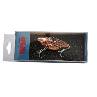 Bigskyie Metal Road Bait Flutter VIB 302 Big Belly Fishing Gear Bait RD - intl