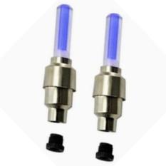 Bộ 2 đèn led gắn van bánh xe đạp  TI131 (xanh dương)