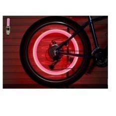 Bộ 2 Đèn LED gắn van cho bánh xe máy ô tô ( Màu ngẫu nhiên) )