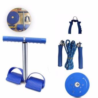 Bộ 4 món dụng cụ tập thể dục VegaVN cho nữ (Xanh)