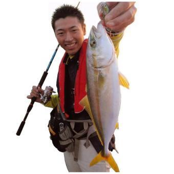 Bộ cần câu cá 2 khúc ruột đặc 2m1 KT A2-Black - 2