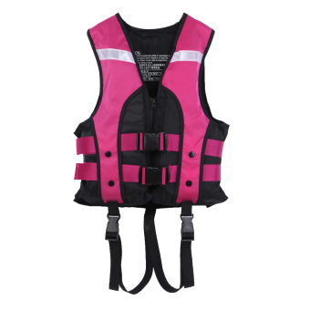 Child Water Sports Vest Swimming Life Jackets (Purple) - intl