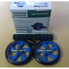 Con lăn tập cơ bụng AB Wheel cỡ lớn loại 1 + Tặng 1 thảm lót