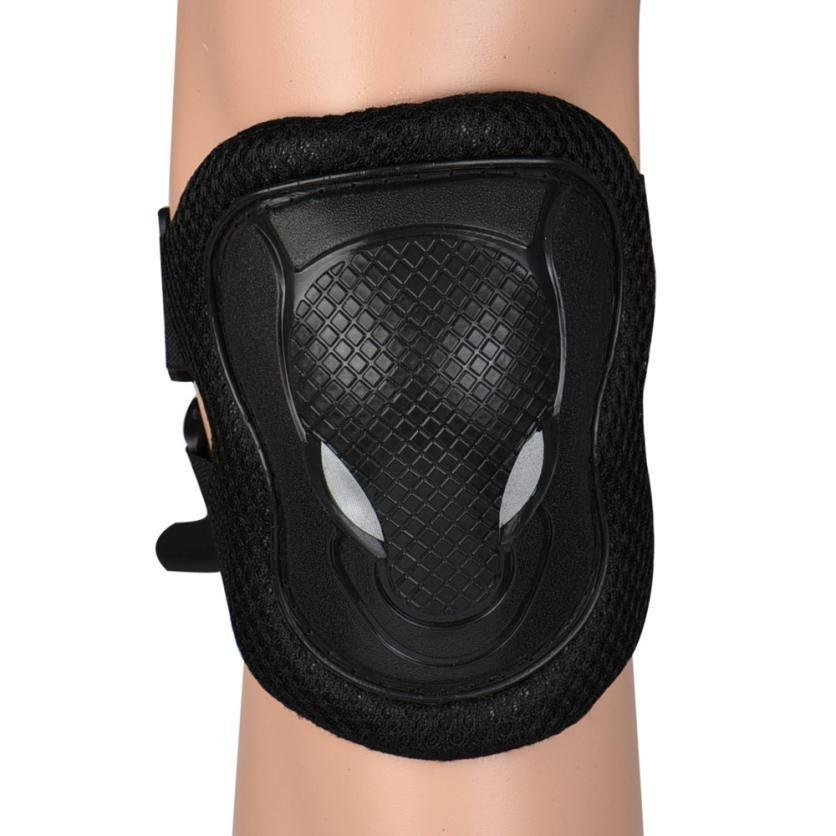 Cycling Roller Skate Ski Bike Protector Gear Pad Guard Set for Knee Elbow Wrist - intl