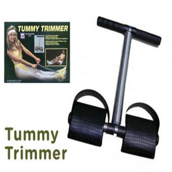 Dây kéo tập lưng và eo Tummy Trimmer (Đen)