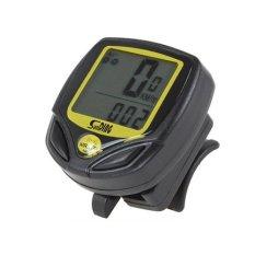 Đồng hồ đo tốc độ xe đạp thể thao không dây (Đen)