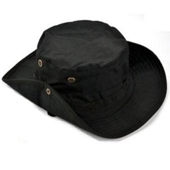 Fisherman hat black - intl