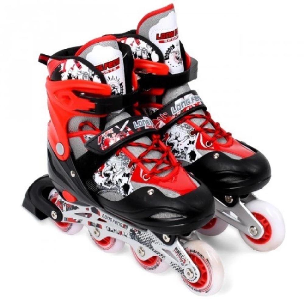 Giày Patin PTB - Size S (Đỏ).