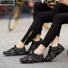 Bảng Giá Giày thể thao đa năng, đế êm, chất thoáng khí dành cho nam và nữ – TILAMI – HR002 (full đen)