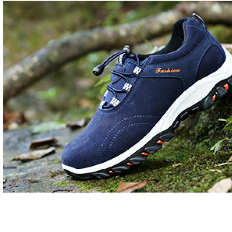 Giày thể thao nam màu xanh 44 -AL